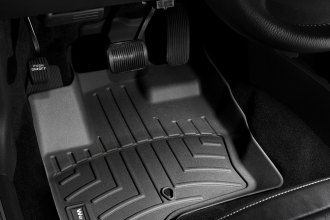WeatherTech® 442081 - DigitalFit™ Molded Floor Liners (1st Row, Black)