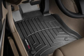 WeatherTech® 442101 - DigitalFit™ Molded Floor Liners (1st Row, Black)