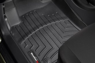 WeatherTech® 442111 - DigitalFit™ Molded Floor Liners (1st Row, Black)