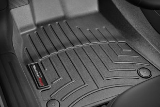 WeatherTech® 442121 - DigitalFit™ Molded Floor Liners (1st Row, Black)