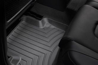 WeatherTech® 442122 - DigitalFit™ Molded Floor Liners (2nd Row, Black)