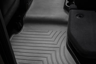 WeatherTech® 442163 - DigitalFit™ Molded Floor Liners (2nd Row, Black)