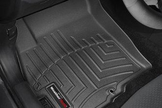 WeatherTech® 442231 - DigitalFit™ Molded Floor Liners (1st Row, Black)