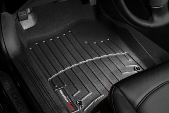 WeatherTech® 442261 - DigitalFit™ Molded Floor Liners (1st Row, Black)