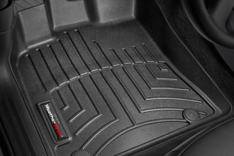 WeatherTech® 442301 - DigitalFit™ Molded Floor Liners (1st Row, Black)