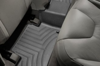 WeatherTech® 442342 - DigitalFit™ Molded Floor Liner (2nd Row, Black)