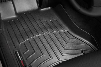 WeatherTech® 442421 - DigitalFit™ Molded Floor Liners (1st Row, Black)