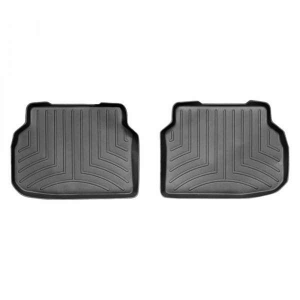 WeatherTech® - DigitalFit™ Molded Floor Liners - 2nd Row, Black