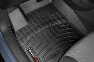 WeatherTech® 442441 - DigitalFit™ Molded Floor Liners (1st Row, Black)