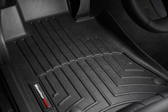 WeatherTech® 442581 - DigitalFit™ Molded Floor Liners (1st Row, Black)