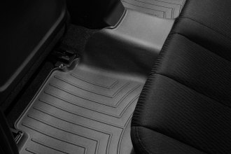 WeatherTech® 442592 - DigitalFit™ Molded Floor Liner (2nd Row, Black)