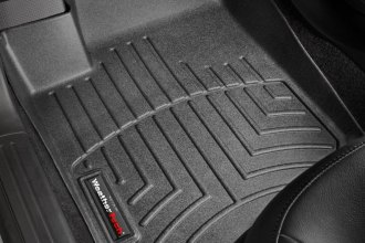 WeatherTech® 442631 - DigitalFit™ Molded Floor Liners (1st Row, Black)
