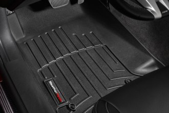 WeatherTech® 442671 - DigitalFit™ Molded Floor Liners (1st Row, Black)