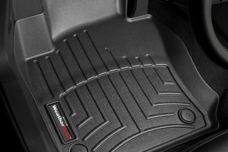 WeatherTech® 442691 - DigitalFit™ Molded Floor Liners (1st Row, Black)
