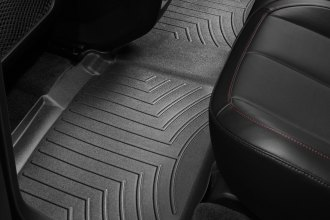 WeatherTech® 442712 - DigitalFit™ Molded Floor Liner (2nd Row, Black)