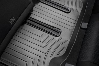 WeatherTech® 442743 - DigitalFit™ Molded Floor Liner (3rd Row, Black)