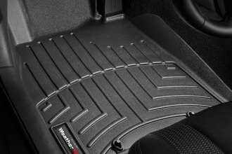WeatherTech® 442751 - DigitalFit™ Molded Floor Liners (1st Row, Black)