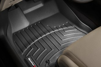 WeatherTech® 442801 - DigitalFit™ Molded Floor Liners (1st Row, Black)