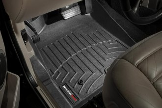WeatherTech® 442841 - DigitalFit™ Molded Floor Liners (1st Row, Black)