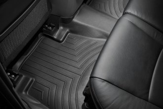 WeatherTech® 442862 - DigitalFit™ Molded Floor Liner (2nd Row, Black)