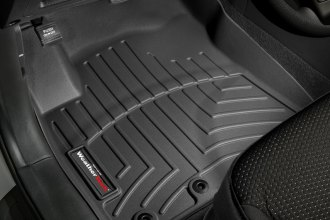 WeatherTech® 442871 - DigitalFit™ Molded Floor Liners (1st Row, Black)