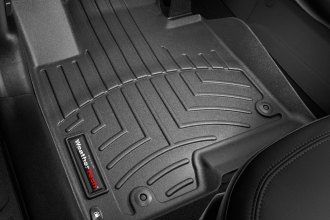 WeatherTech® 442921 - DigitalFit™ Molded Floor Liners (1st Row, Black)