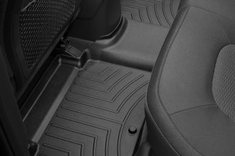 WeatherTech® 442924 - DigitalFit™ Molded Floor Liner (2nd Row, Black)
