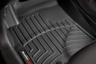 WeatherTech® 442981 - DigitalFit™ Molded Floor Liners (1st Row, Black)