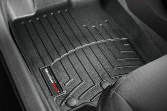 WeatherTech® 442991 - DigitalFit™ Molded Floor Liners (1st Row, Black)