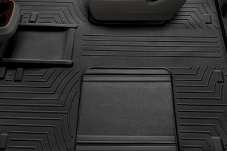 WeatherTech® 443004 - DigitalFit™ Molded Floor Liner (2nd and 3rd Row, Black)