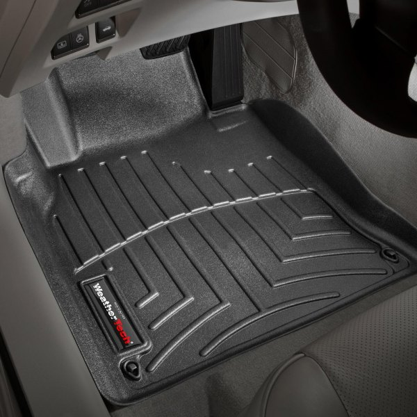WeatherTech® - DigitalFit™ Molded Floor Liners 1st Row, Black