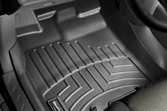 WeatherTech® 443111 - DigitalFit™ Molded Floor Liners (1st Row, Black)