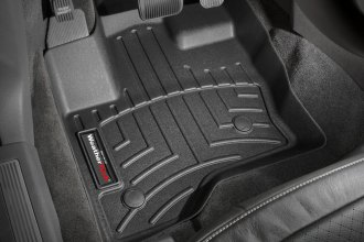 WeatherTech® 443121 - DigitalFit™ Molded Floor Liners (1st Row, Black)