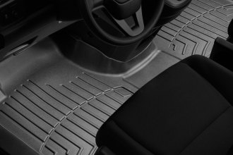 WeatherTech® 443191 - DigitalFit™ Molded Floor Liners (1st Row - Over The Hump, Black)