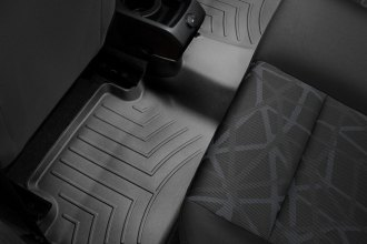 WeatherTech® 443232 - DigitalFit™ Molded Floor Liner (2nd Row, Black)