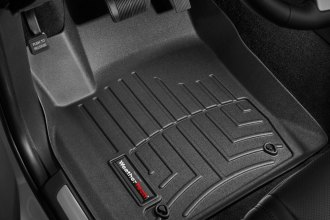 WeatherTech® 443241 - DigitalFit™ Molded Floor Liners (1st Row, Black)