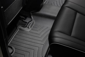 WeatherTech® 443242 - DigitalFit™ Molded Floor Liner (2nd Row, Black)