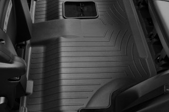 WeatherTech® 443243 - DigitalFit™ Molded Floor Liner (3rd Row, Black)