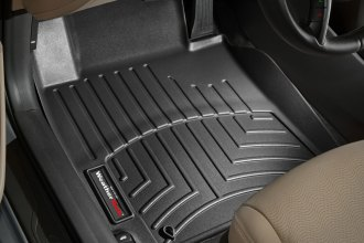WeatherTech® 443251 - DigitalFit™ Molded Floor Liners (1st Row, Black)