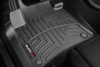WeatherTech® 443331 - DigitalFit™ Molded Floor Liners (1st Row, Black)