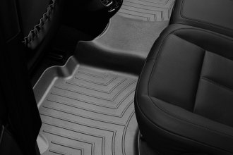 WeatherTech® 443332 - DigitalFit™ Molded Floor Liners (2nd Row, Black)