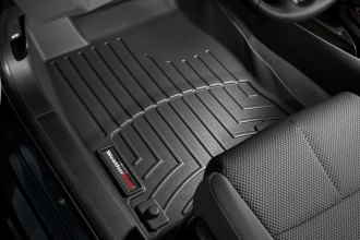 WeatherTech® 443351 - DigitalFit™ Molded Floor Liners (1st Row, Black)