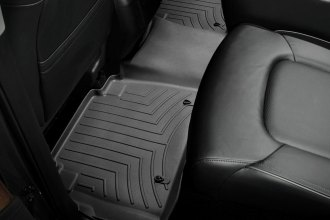 WeatherTech® 443362 - DigitalFit™ Molded Floor Liners (2nd Row, Black)