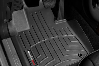 WeatherTech® 443371 - DigitalFit™ Molded Floor Liners (1st Row, Black)