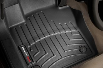 WeatherTech® 443381 - DigitalFit™ Molded Floor Liners (1st Row, Black)