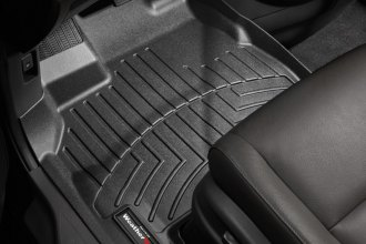 WeatherTech® 443411 - DigitalFit™ Molded Floor Liners (1st Row, Black)