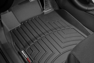 WeatherTech® 443421 - DigitalFit™ Molded Floor Liners (1st Row, Black)