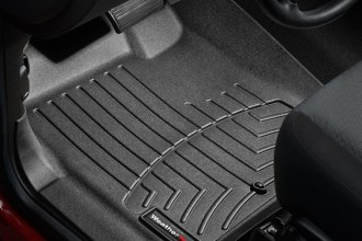 WeatherTech® 443431 - DigitalFit™ Molded Floor Liners (1st Row, Black)