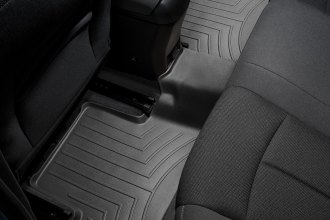 WeatherTech® 443442 - DigitalFit™ Molded Floor Liners (2nd Row, Black)