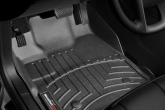 WeatherTech® 443461 - DigitalFit™ Molded Floor Liners (1st Row, Black)